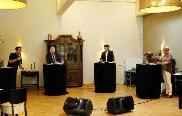 Wettstreit der Bürgermeisterkandidaten in der Gemeinde Selfkant