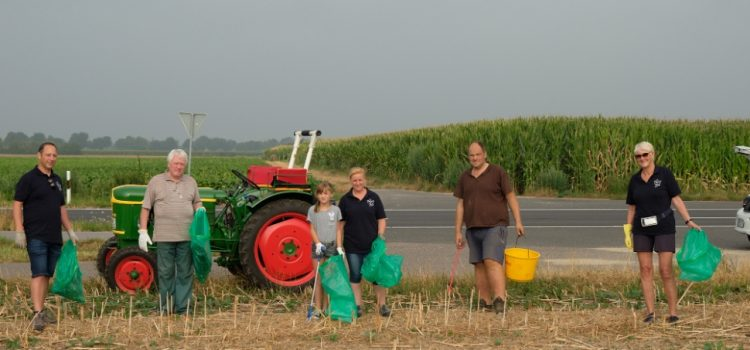 Landwirt bat um Unterstützung